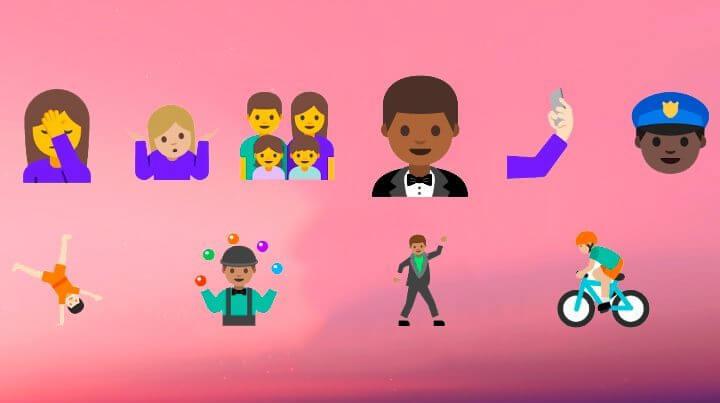 Android N ganha emoji de selfie e atalhos na tela inicial 8