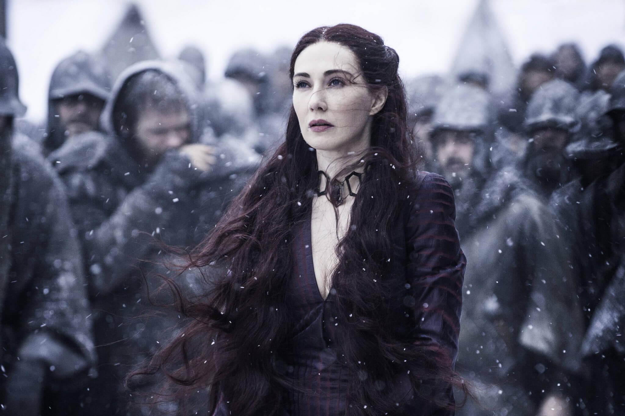 carice van houten melissandre got - O que podemos esperar de Game of Thrones esta noite?