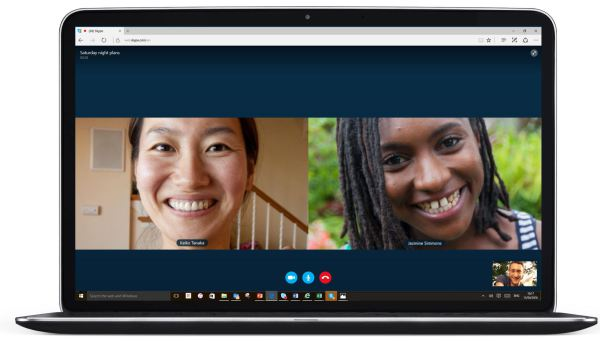 skype video calling on microsoft edge1 - Skype para Web dispensa plugins na hora de fazer chamadas