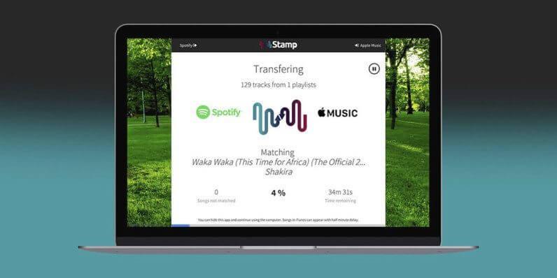 Stamp te ajuda a migrar músicas e playlists entre serviços de streaming 5
