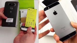 Confira o vídeo unboxing dos novos LG G5 e iPhone SE 7