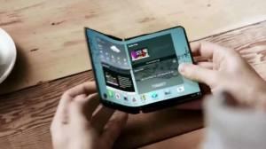 samsung smartphone dobravel - Samsung irá lançar dois smartphones com telas dobráveis no próximo ano