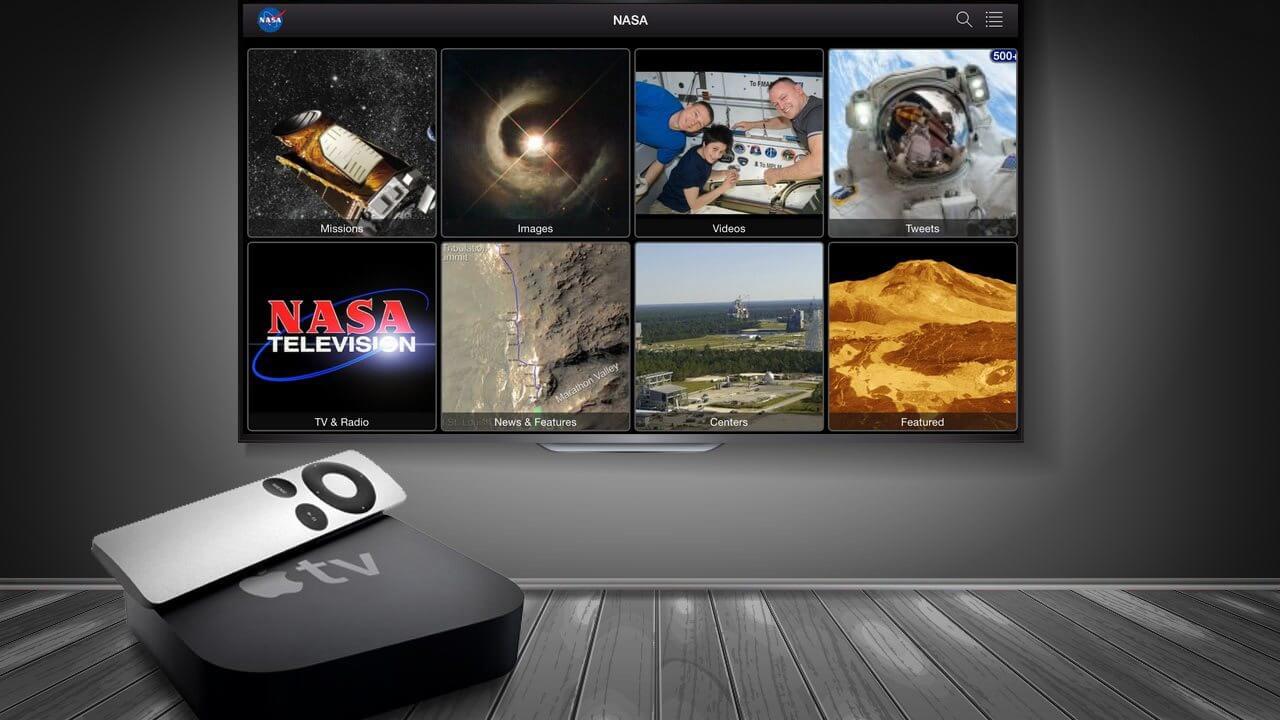 smt Apple TV NASA App Capa - Aplicativo da NASA é disponibilizado para Apple TV de 4° geração