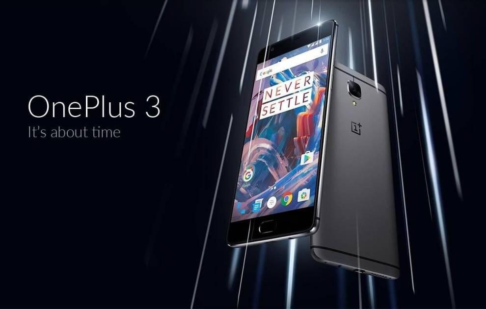 """smt OnePlus3 capa - OnePlus 3 é lançado e chega para ser o """"rei do custo-benefício"""""""