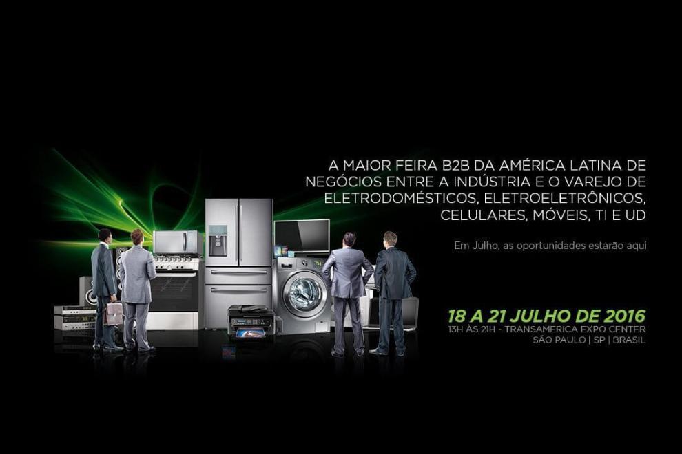 Eletrolar Show 2016 capa - Eletrolar Show 2016: Varejistas de todo o Brasil apresentam suas novidades em eletrodomésticos