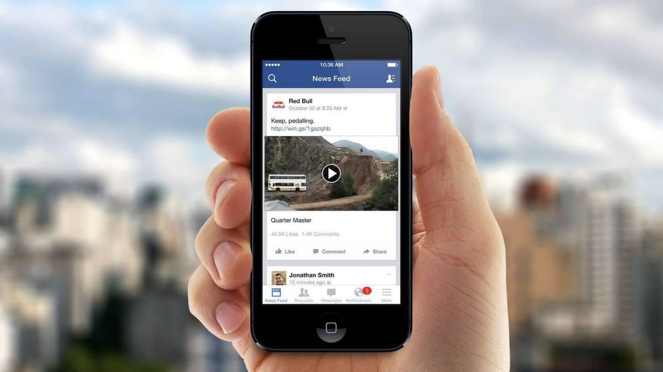Videos Offline Facebook Capa 2 - Facebook testará recurso que permite ver vídeos offline