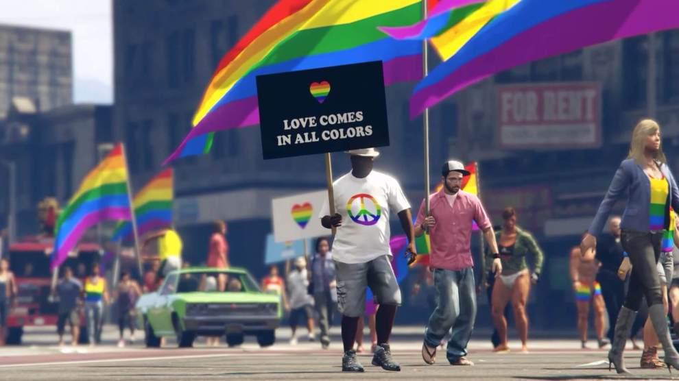 Los Santos Pride: mod do GTA V traz a parada do orgulho LGBT ao game 6