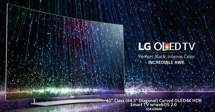 TV LG OLED HDR