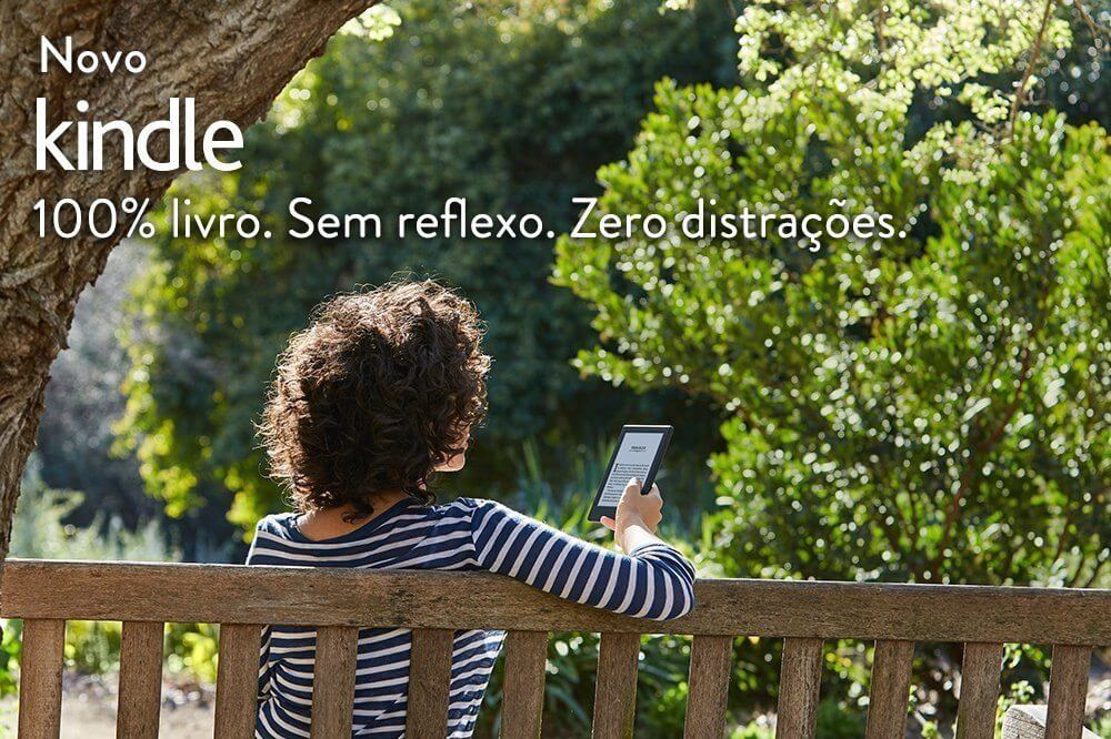 Novo Kindle Destaque - Amazon lança novo Kindle pelo mesmo preço da geração anterior