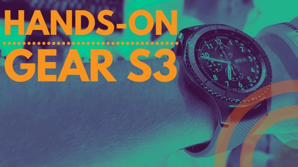 Hands On: Samsung Gear S3 4
