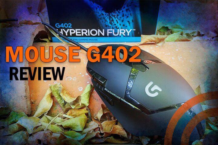 Review Mouse Logitech G402