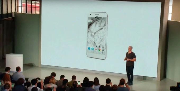 Anuncio google pixel evento