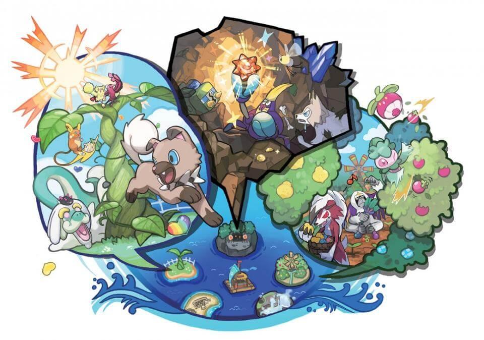 Descubra todas as novidades de Pokémon Sun & Moon