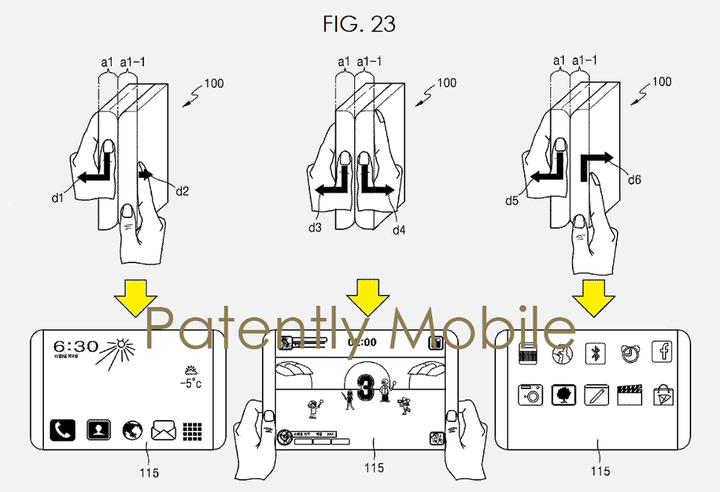 samsung foldable2 720x720 720x492 - O que sabemos sobre o Galaxy X, smartphone dobrável da Samsung