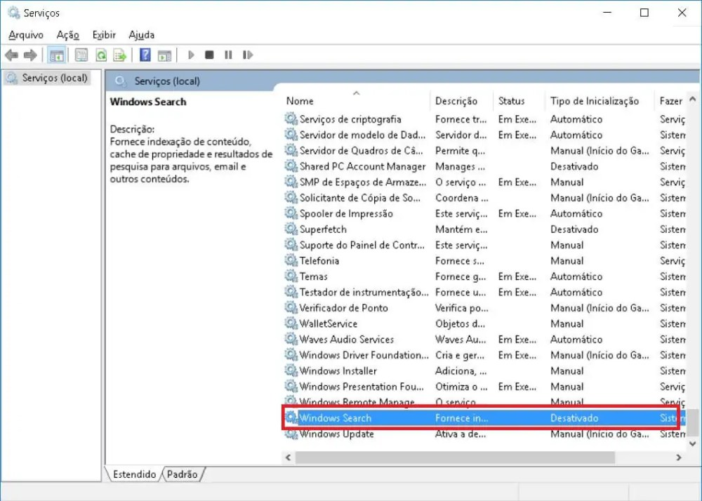 2.2 - Tutorial: Disco a 100% no Windows 10? Veja como resolver