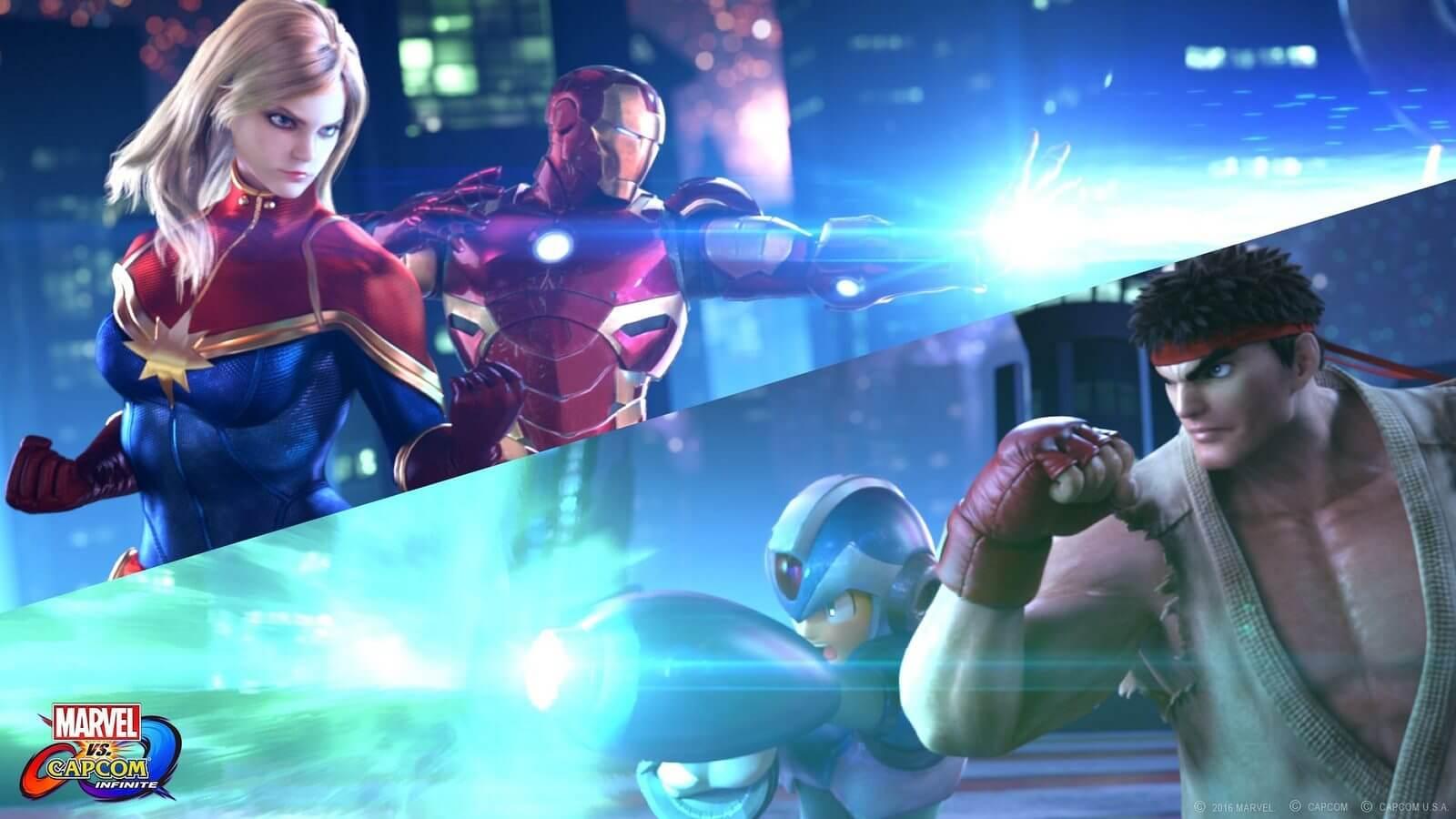 """Marvel vs. Capcom Infinite versus - """"Marvel vs. Capcom Infinite"""": heróis se enfrentam usando as Jóias do Infinito"""