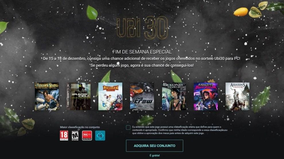 Calendario Ubisoft.Ubi 30 7 Jogos Gratis Da Ubisoft
