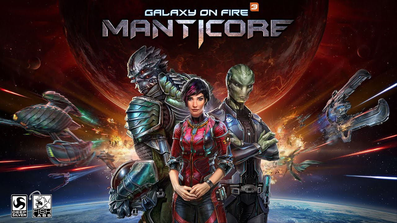 galaxy on fire 3 manticore - Lançamento da semana: Galaxy on Fire 3 (iOS)