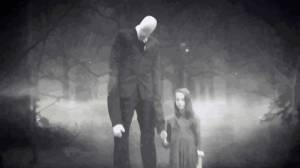 slenderman with child - Ciência vs. Crendices: O que são os Espíritos do Sono?