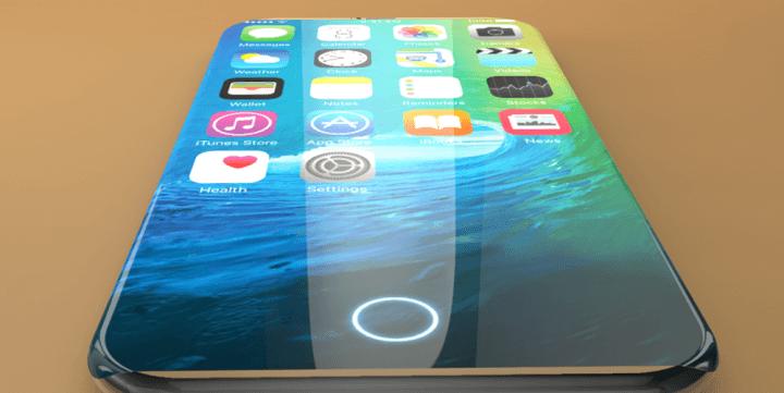 iphone 7 and iphone 7 edge concept 4 720x361 - Rumor: iPhone 8 será feito em vidro com estrutura de aço inoxidável