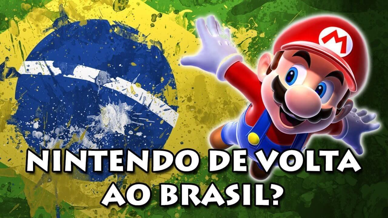 Depois de dois anos, Nintendo pode finalmente voltar ao Brasil