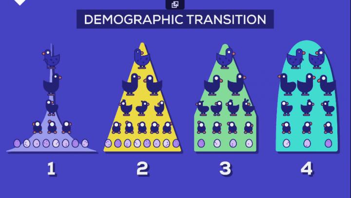 Pirâmide demográfica está se invertendo 720x406 - Por que a população da Terra vai parar de crescer um dia?
