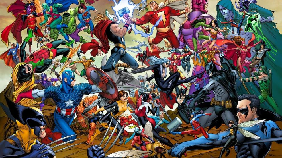 No ringue da TV, quem leva: DC ou Marvel? 7