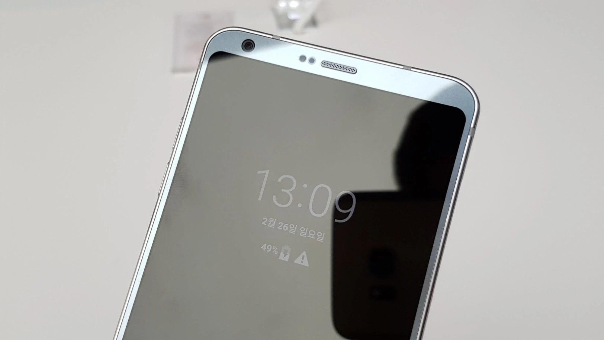wp image 1631009846jpg 1 - [HANDS-ON] Conheça o novo LG G6 apresentado na MWC 2017