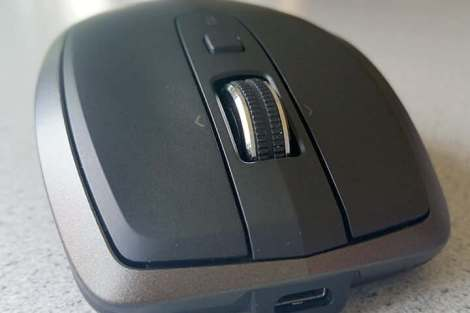Logitech MX Anywhere 2 mouse scroll wheel - Review: Mouse Logitech MX Anywhere 2