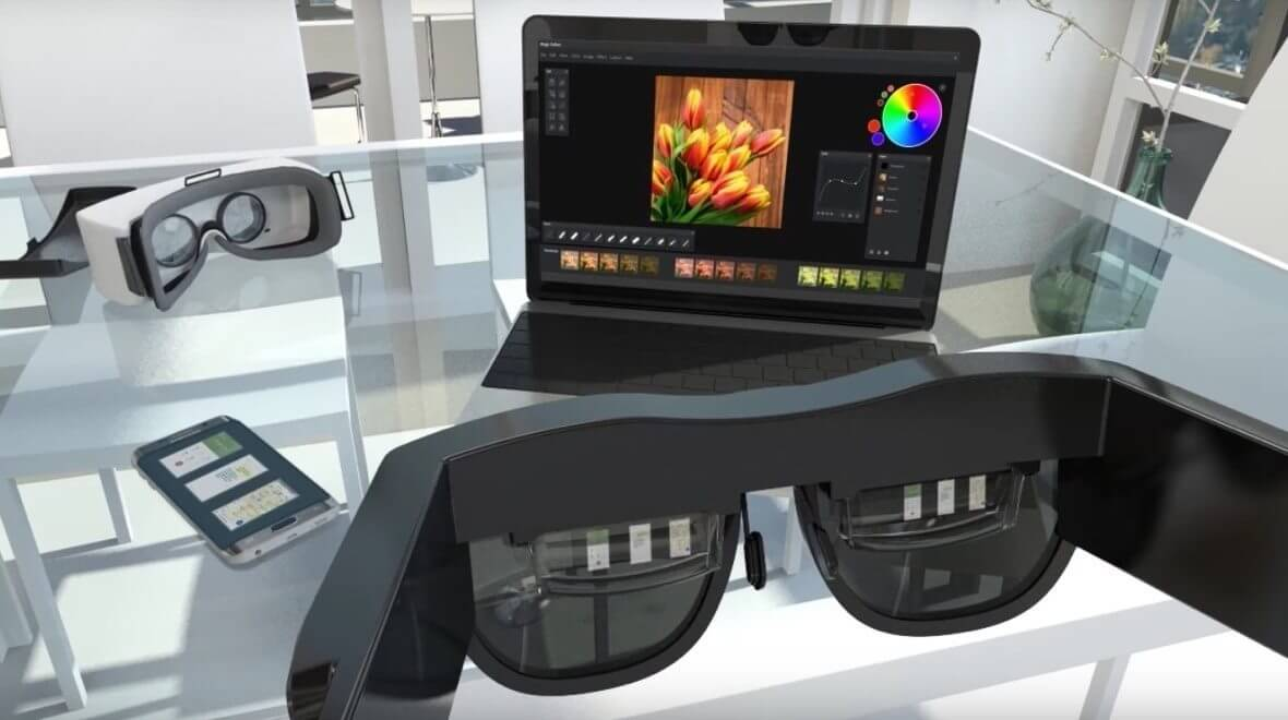 samsung monitorless - Samsung demonstra Óculos AR para PCs e mais outras inovações