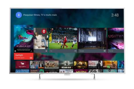 AF 6801 Frente - Review: TV 4K Philips com Android Series 6800