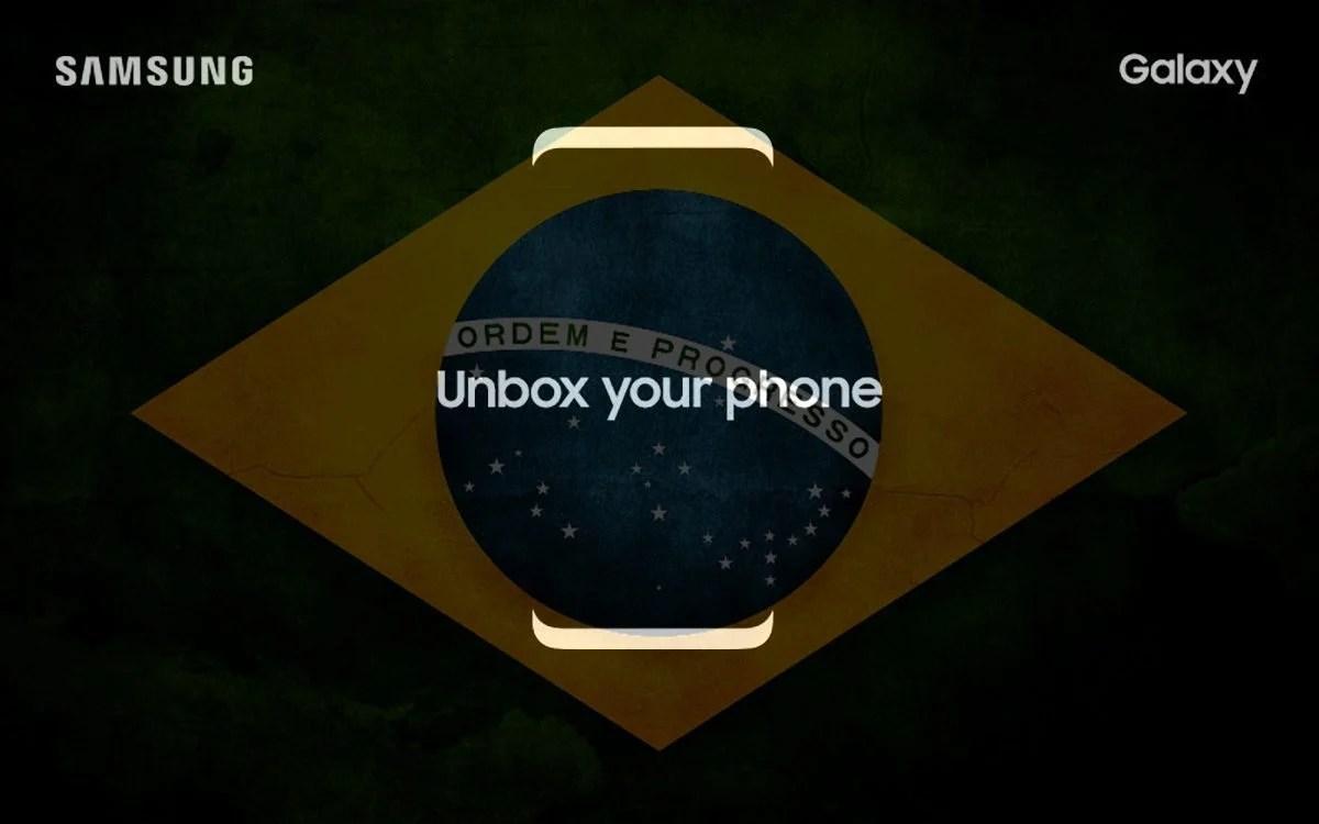 Samsung galaxy S8 Brasil - Samsung marca evento para o Galaxy S8 e S8+ no Brasil