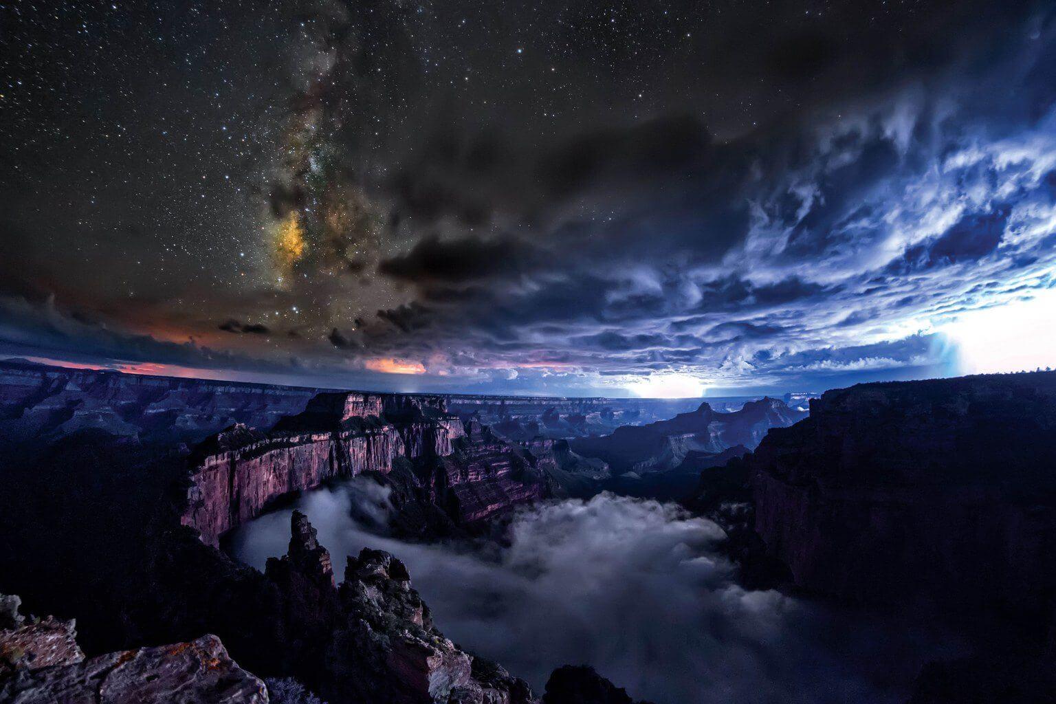 fotos ceu estrelas  1 - O céu fora da cidade tem muito mais estrelas do que você imagina