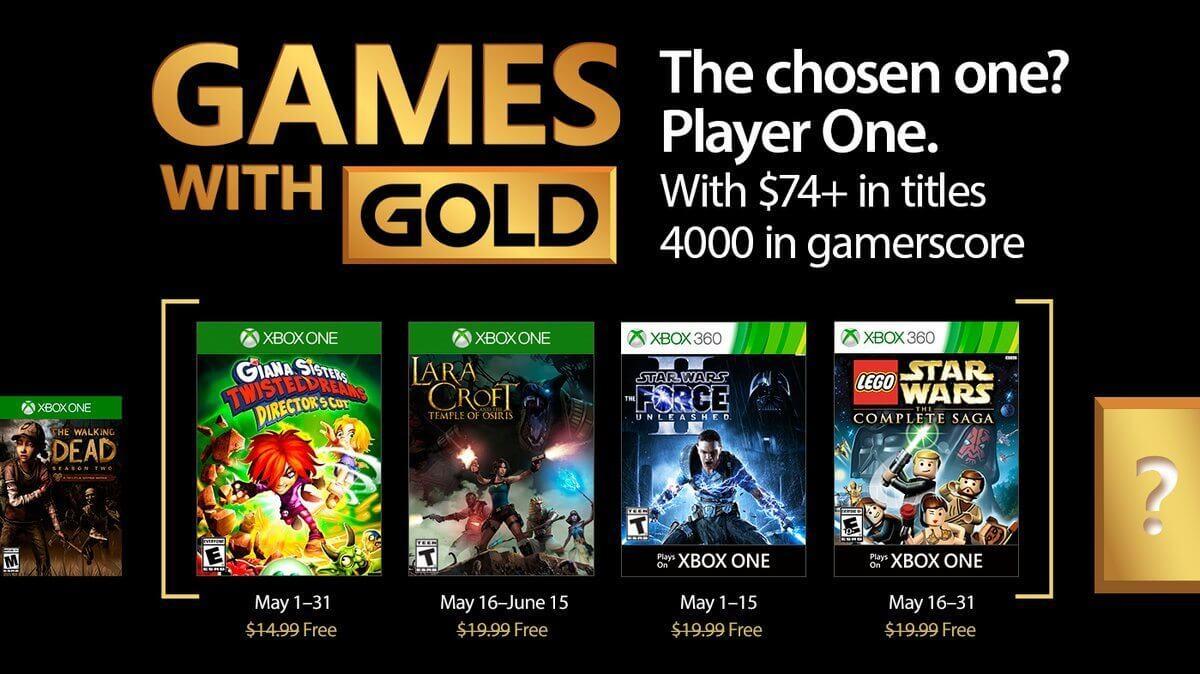 games gratis maio 2017 - Games with Gold: jogos grátis na Live para maio de 2017