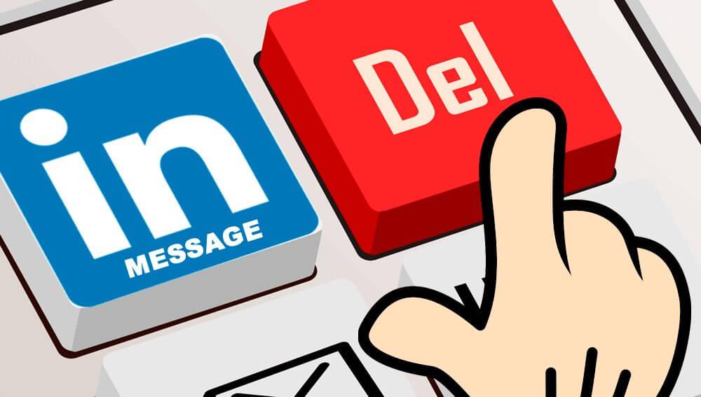 linkedinmessage delete - Tutorial: como deletar todas as mensagens no LinkedIn automaticamente