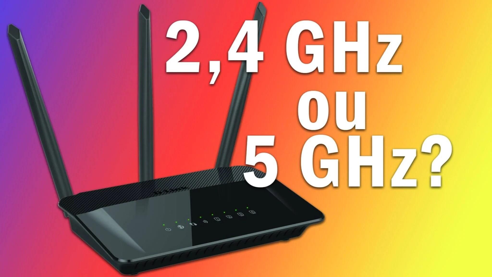 2.4Ghz ou 5Ghz roteadores vs 1 - ROTEADORES: entenda a diferença entre WiFi 2,4 GHz e 5 GHz