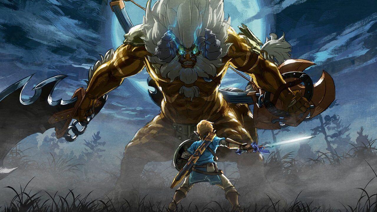 DLC de Legend of Zelda: Breath of the Wild já está disponível