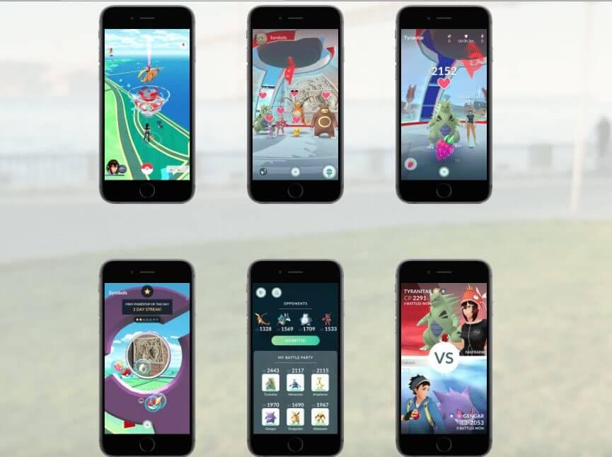 ginasios 2 - Revelado! Descubra como são os novos ginásios em Pokémon GO