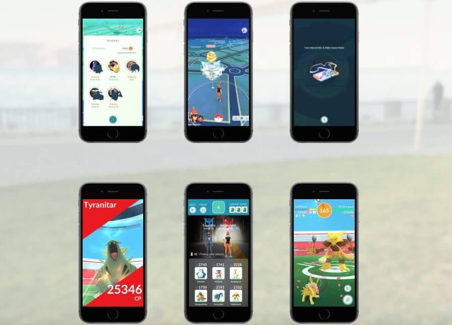 ginasios - Revelado! Descubra como são os novos ginásios em Pokémon GO