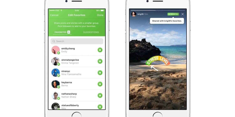 instagram favorites - Instagram testa nova maneira de compartilhar fotos para pessoas selecionadas