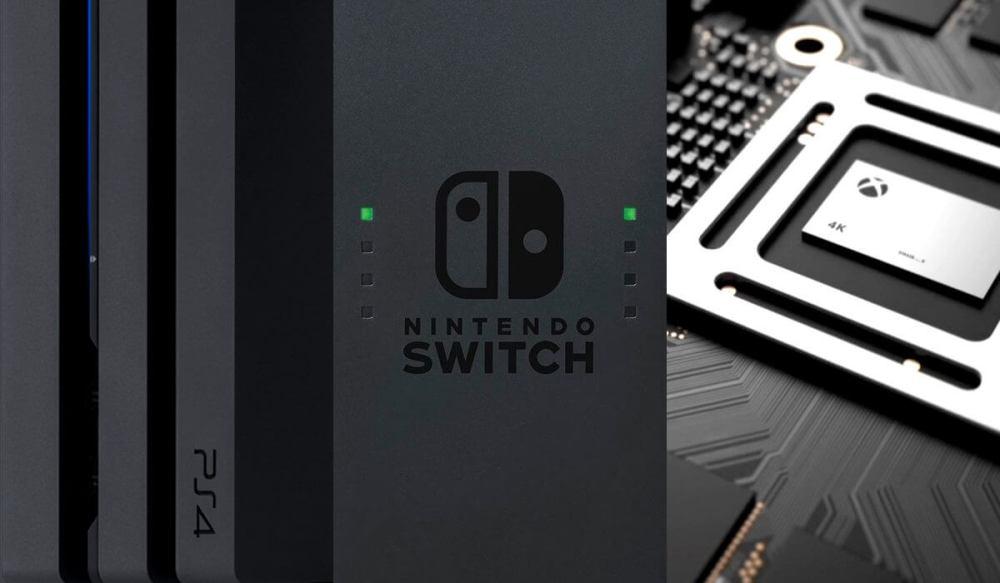 sony ps4 nintendo switch xbox scorpio - Quem venceu a E3 2017? Decisão fica entre Microsoft, Nintendo e Sony