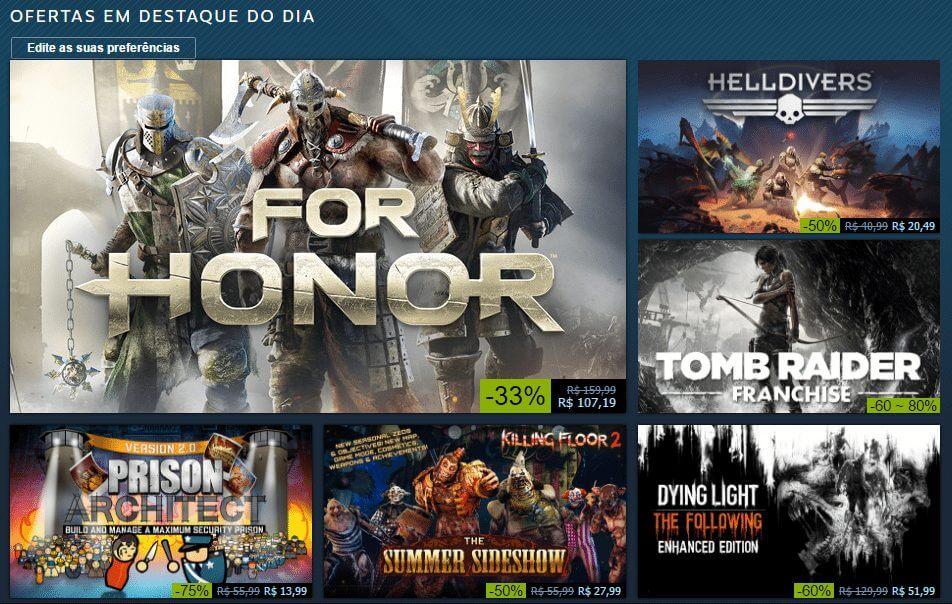 Steam e Nuuvem aquecem o inverno com ofertas em jogos