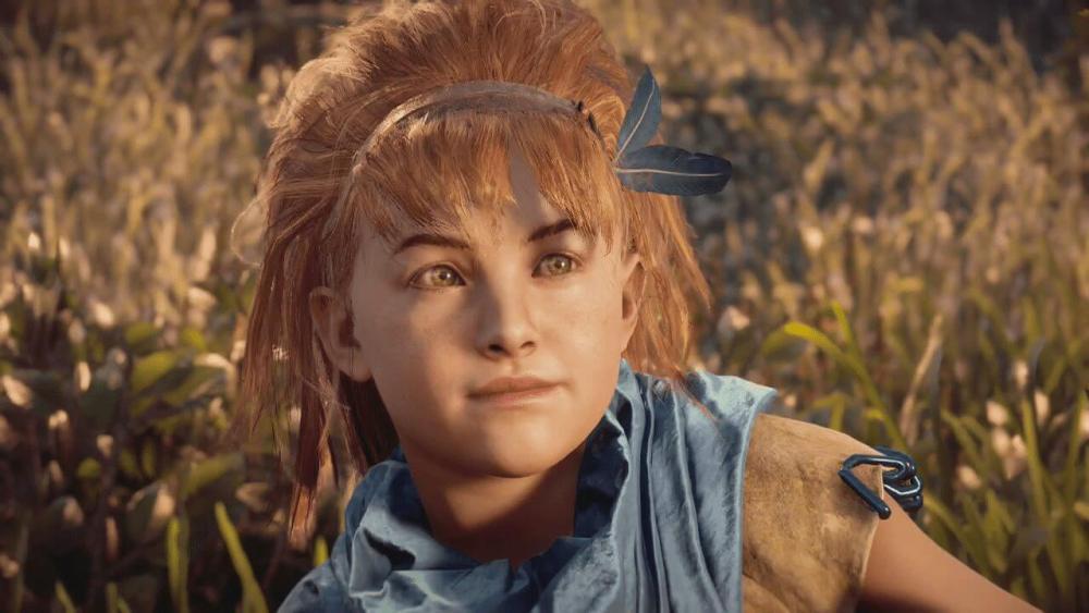 Aloy aos 6 anos Horizon Zero Dawn - Game Review: Horizon Zero Dawn (PS4)