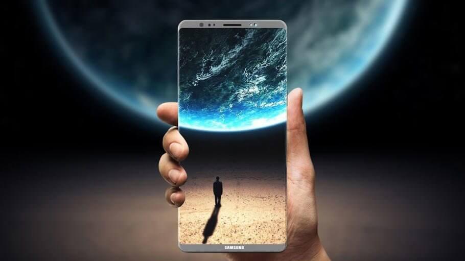 Rumor: Edição Imperador do Galaxy Note 8 teria 6GB de RAM e 256GB de armazenamento 5