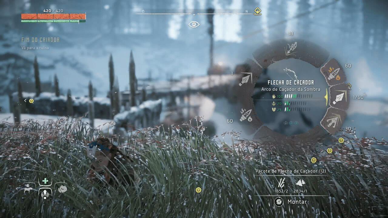 Horizon Zero Dawn Troca de armamento - Game Review: Horizon Zero Dawn (PS4)