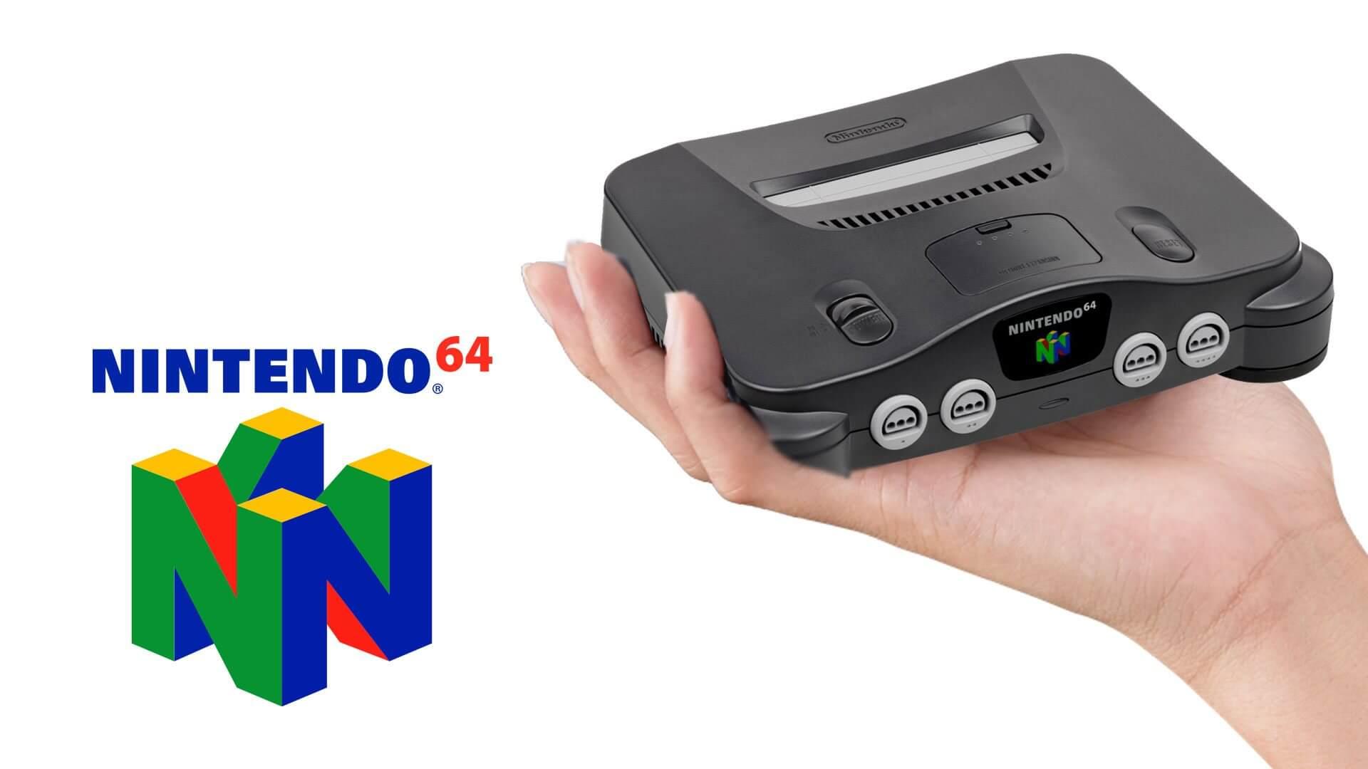 N64 classic - Nintendo 64 pode ser o próximo a receber uma Classic Edition