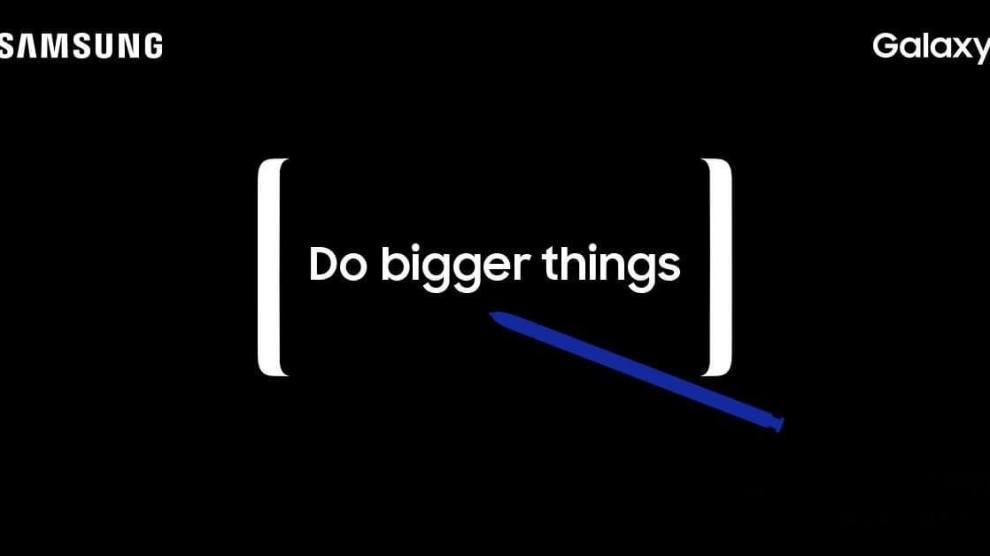galaxy note 8 unpacked date data de lançamento agosto