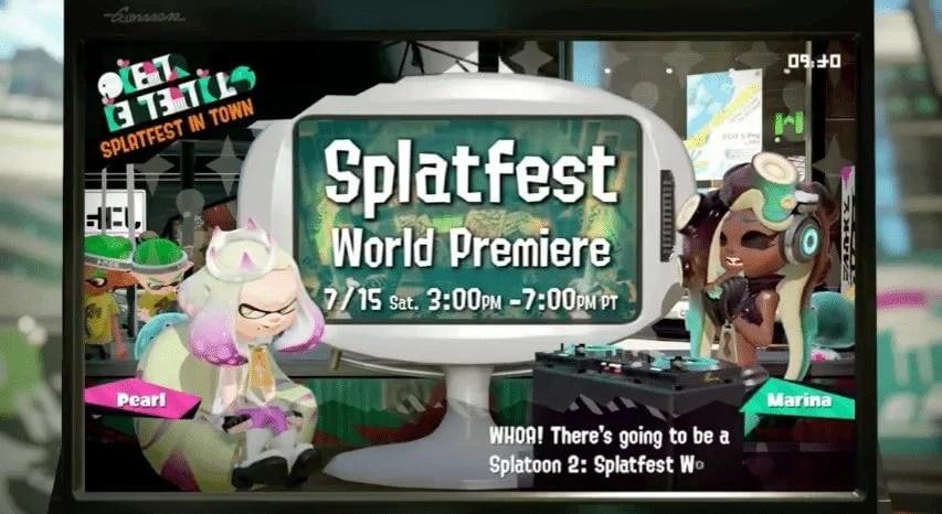 splatfest - Saiba todos os detalhes da Direct de Splatoon 2 para Nintendo Switch