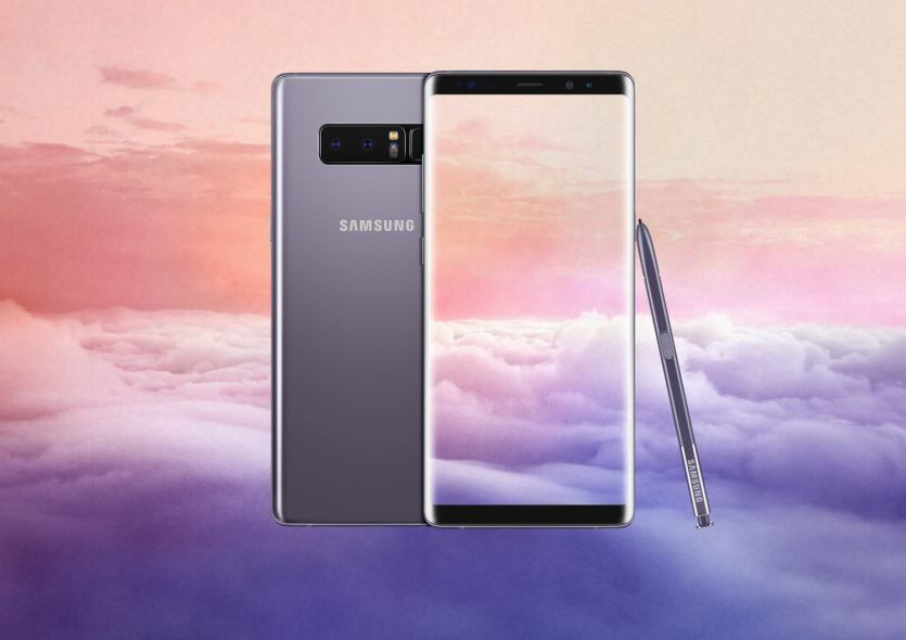 13. Galaxy note8 orchid gray