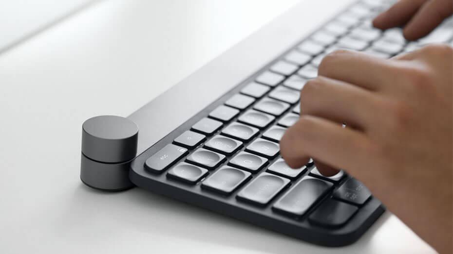Novo teclado Craft da Logitech traz rodinha inteligente
